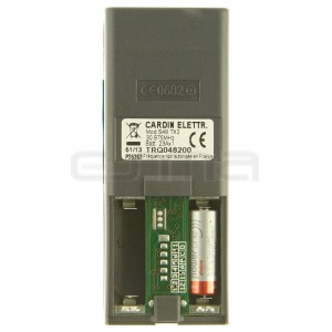 Handsender CARDIN S48-TX2 TRQ048200 rosafarben