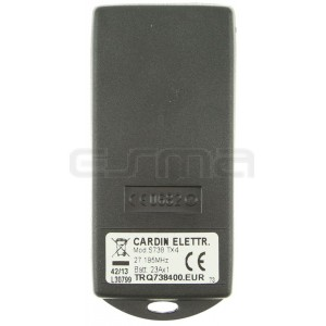 Handsender CARDIN TRQ738400 27.195 MHz
