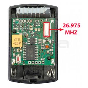 Handsender für Garagentorantriebe HÖRMANN HSM4 26.975 MHz