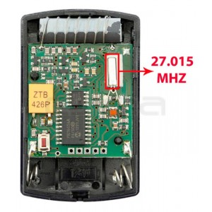 Handsender HÖRMANN HSM4 27.015 MHz