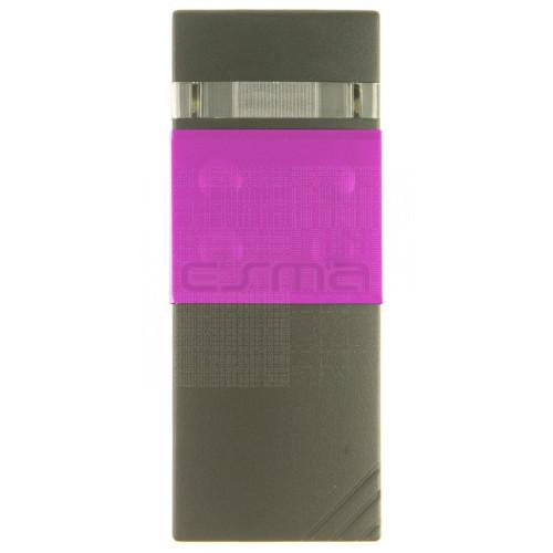 Handsender CARDIN S48-TX4 30.875 MHz rosafarben - Programmierung dem Empfänger