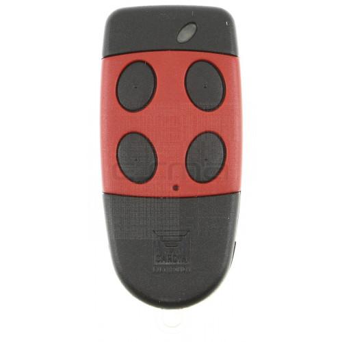 Handsender CARDIN S486-QZ4 rot 868,35 MHz - Programmierung dem Empfänger