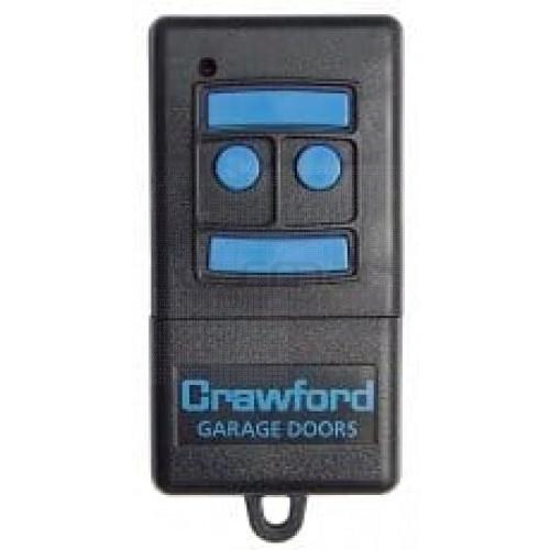 Handsender CRAWFORD T433-4 - Programmierung dem Empfänger
