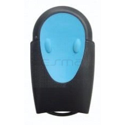Handsender für Garagentorantriebe TELECO TXR-433-A02 blue