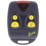 Handsender PROGET EMY 4F 433 MHz - Programmierung dem Empfänger