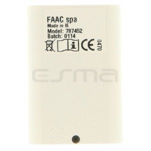 Handsender FAAC XT4 433 RC