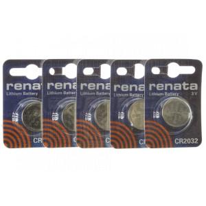 Lithium-Batterie Pack CR2032