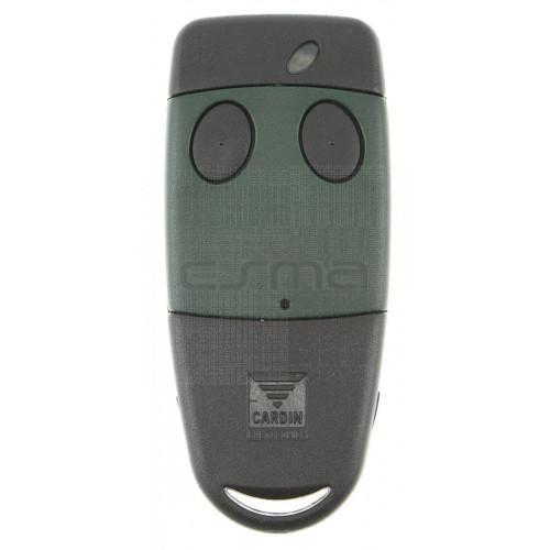 Handsender CARDIN S449-QZ2 grün 433,92 MHz - Programmierung dem Empfänger